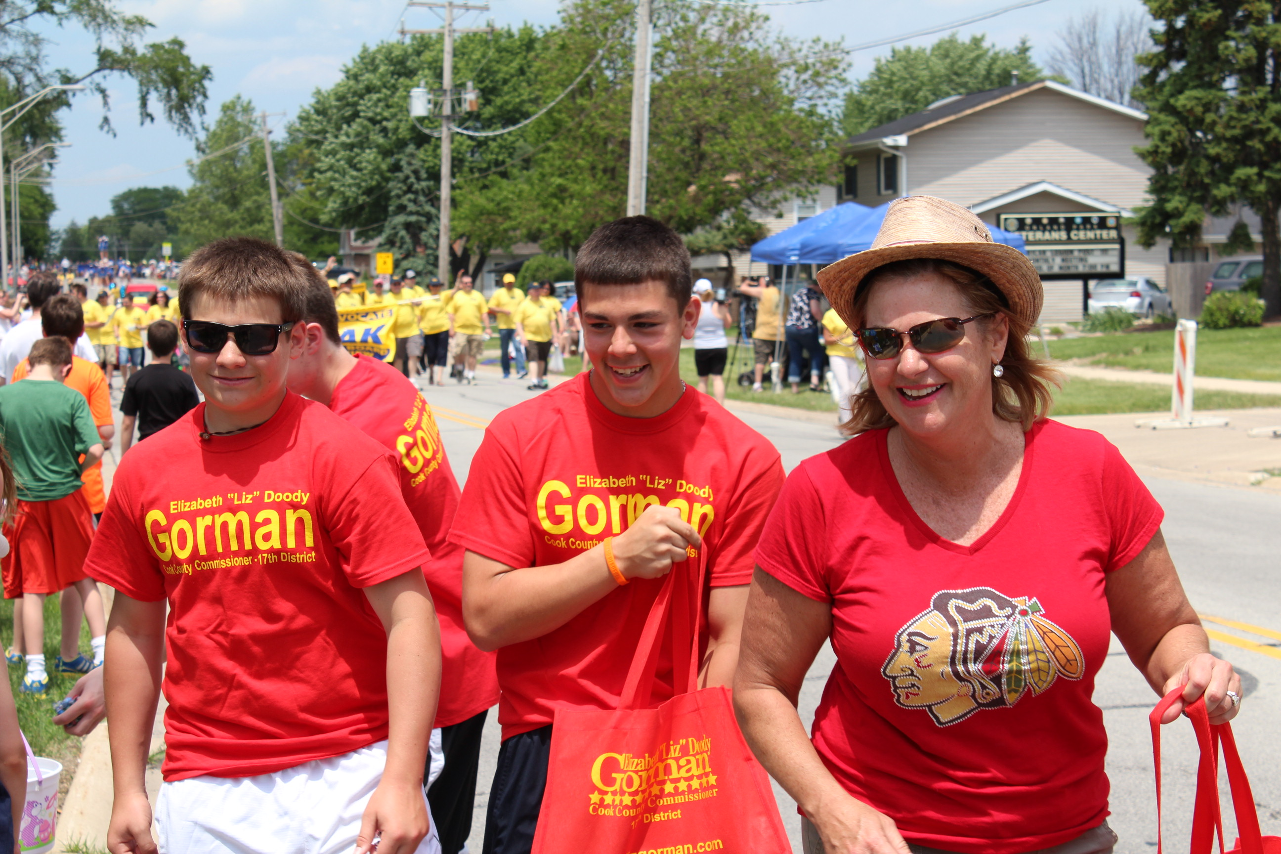 Sexism and politics at the Orland Days Parade