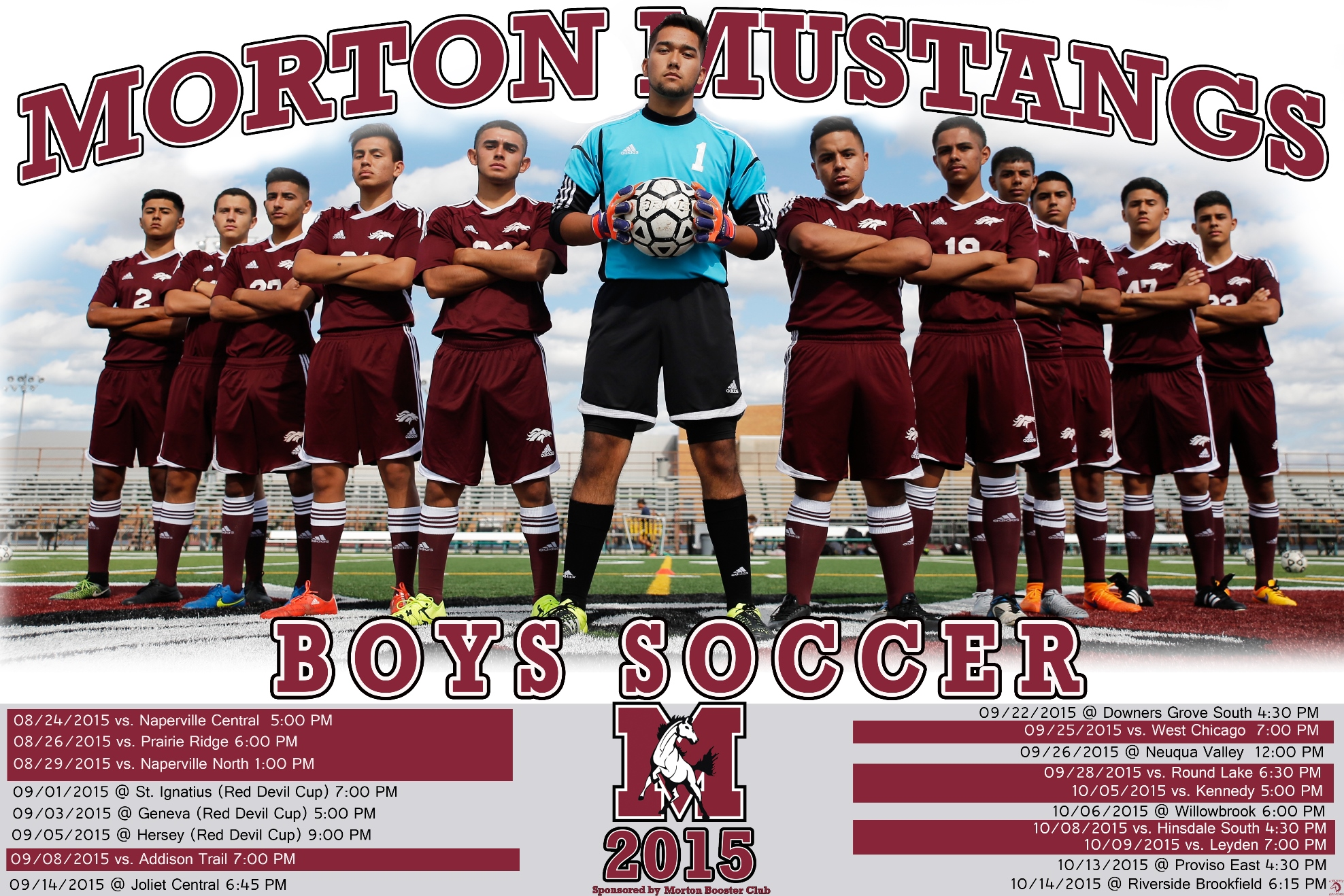 Morton High School Issues 2015 Boys Soccer Poster