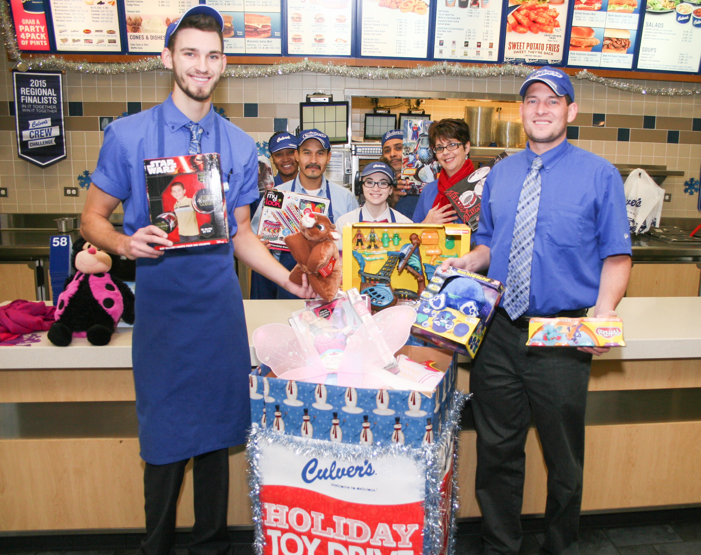 Culver's collects toys for needy kids
