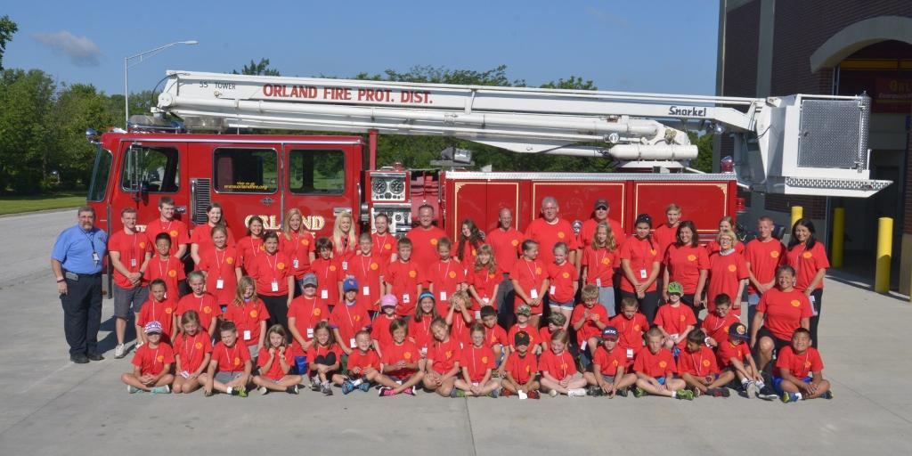 Registration begins June 6 for Fire District Kid's Camp